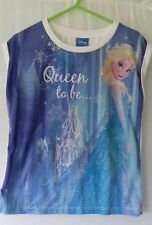 Disney age 5-6 years Frozen vest top