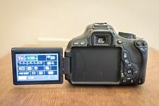 Canon Rebel T3i 18.0 MP SLR With EF-S IS II 18-55mm + 50mm II 1.8 Lens (3 LENS)