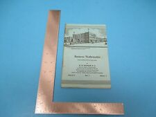 1980 Business Mathematics For Home Study 1st Ed. 68 pgs. By W.Spangler S2251