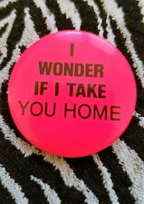 Lisa Lisa And Cult Jam With Full Force  I Wonder If I Take You Home Promo Pin