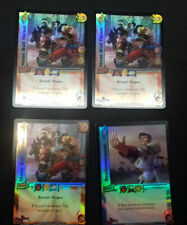 UFS Foil Cards x4 - Soul Calibur - 3x Stone Wall Thrust, 1x Replenishment