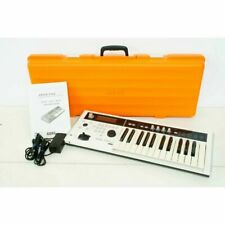 Korg micro X WH Synthesizer Controller Keyboard White W/ Case Tested Working JP