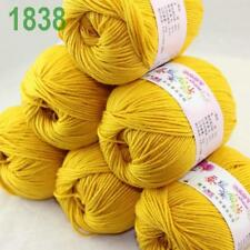 AIP 6 Skeinsx 50gr Cashmere Silk Wool Children Hand Knit Shawls Crochet Yarn 38