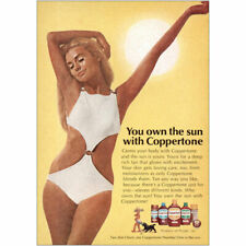1970 Coppertone: You Own the Sun Vintage Print Ad