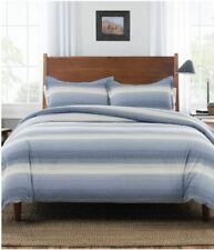 Pendleton Ombre Stripe Comforter Set Denim Size Full/Queen