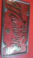 1966 Mustang Custom License Plate
