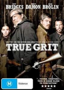True Grit (2010) DVD TOP 1000 MOVIES WESTERN BEST PICTURE BRAND NEW R4