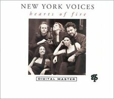 NEW SEALED Hearts of Fire by New York Voices (CD, Dec-1991, GRP (USA)) JZ1329