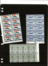 INDIA 1947-8 INDEPENDANCE 3 X 10 BLOCKS OF 10 FINE UMM / MNH
