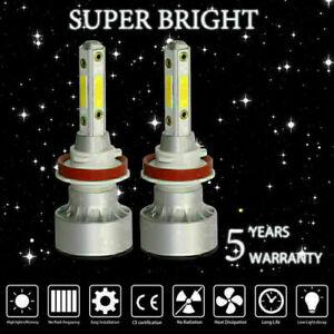 H11 H9 H8 COB 4-Sides LED Headlight bulbs Kit Bulb Fog light Xenon 6000K White