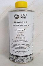 GENUINE Audi VW Volkswagen Brake Fluid DOT 4 - 16.9 fl. oz (Metal Can)