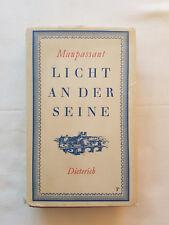 Guy de Maupassant: Licht an der Seine. Erzählungen. Sehr gut erhalten.