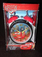 Disney Pixar Cars Twin Bell Alarm Clock - NEW