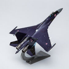 AF1 1/72 Russian SU-35 (Purple) Super Flanker Fighter Diecast Model