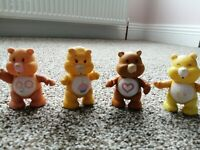 Vintage Care Bears Bundle Joblot Posable Friend, Tenderheart, Funshine, Birthday