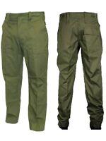 Lightweight Green Service Uniform Combat Trousers British Army Surplus Fatigue