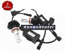 KIT FULL LED CANBUS XENON 8000 LM LUMEN H9 6000K LAMPADE 2 ANNI GARANZIA