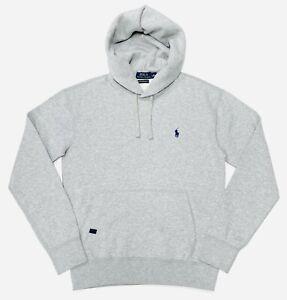 Polo Ralph Lauren Men's Performance Fleece Hoodie In Grey RRP $129.99