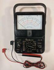 Simpson 260 Series 2 Analog Volt Ohm Amp Meter Multi Meter