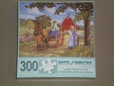 BITS AND PIECES 300 Large Piece Jigsaw Puzzle - GOOD NEIGHBORS - COMPLETE