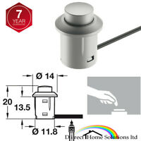 Hafele Magnetic Pressure Catch /& Counterplate 1.2kg Pull Morticed /& Press Fit