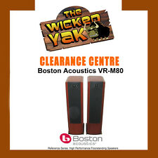 Boston Acoustics VR-M80 250 Watt Floorstanding Speakers Cherry-Made in USA