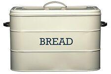 Kitchen Craft Living Nostalgia - Contenitore Porta pane in acciaio colore CRE