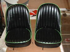CUSTOM HOT ROD 32, FORD,LEATHER BUCKET SEATS WITH SEAT TRACKS