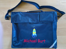 Personalised School Book/Music/Document Bag With Shoulder Strap