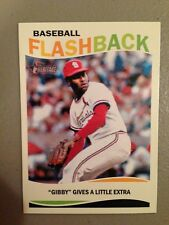 2013 Topps Heritage Baseball Flashbacks Bob Gibson Cardinals BF-BG