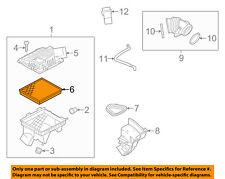 GM OEM Engine-Air Filter Element 22753242