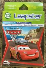 Leap Frog Leapster learning game mathematics Disney Pixar Cars