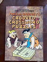 Vintage 1978 Hanna-Barbera Flintstones Crossword Puzzles Unused