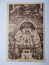 """CPA """"Lyon - La vierge Noire miraculeuse de la vieille chapelle de Fourvière"""""""