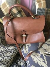 Fabulous Tan Leather Bag, Weekend Collection By John Lewis