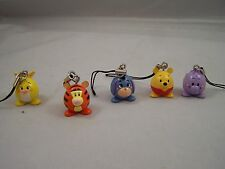 Disney Winnie the Pooh and Friends Phone Charms