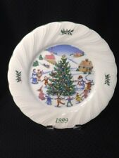 Nikko HAPPY HOLIDAYS 1999 Frosty Collector Plate 1148206