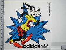 Aufkleber Sticker Adidas - Sport - Walt Disney Production - Marke - Goofy(M1033)