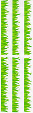 Mrs. Grossman's Stickers - Grass - Turf, Green Grass Strip - 4 Strips