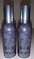 2 Bath And Body Works CRISP MORNING AIR Concentrated Room Spray
