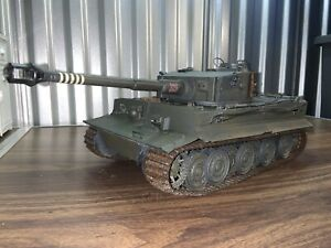 21st Century Toys 1/18 GERMAN TIGER I HEAVY TANK Ultimate Soldier BBI MOTORWORKS