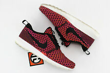 outlet store b3e8a 4f5bb Nike Flyknit Rosherun Black Fireberry Total Orange Size 8 677243 004