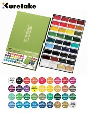 Kuretake Zig Gansai Tambi Japanese Large Pan Watercolour Paint Set (36 Colours)