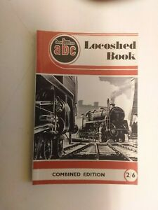 Ian Allan ABC Locoshed Book 1952 Facsimile Edition Pub 2002