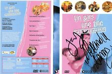 UN GARS UNE FILLE DEDICACÉE/ JEAN DUJARDIN - ALEXANDRA LAMY DVD SERIE TV