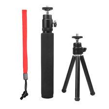 2in1 Extendable Telescopic Monopod+Tripod For Ricoh Theta/LG/Samsung 360 Cameras