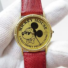 MICKEY MOUSE, Lorus, Disney, All Gold Dial&Face, Unique,  Mens/Teen WATCH, 1811