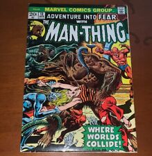Adventure into Fear with the Man-Thing #13 Marvel Comics