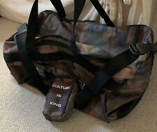 Culture Kings Camo Duffle Bag And Small Pounch Bag New
