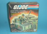 1980s Plastirama Argentina GI Joe Mortar Defense Unit NIP MISB Sealed Unopen Box